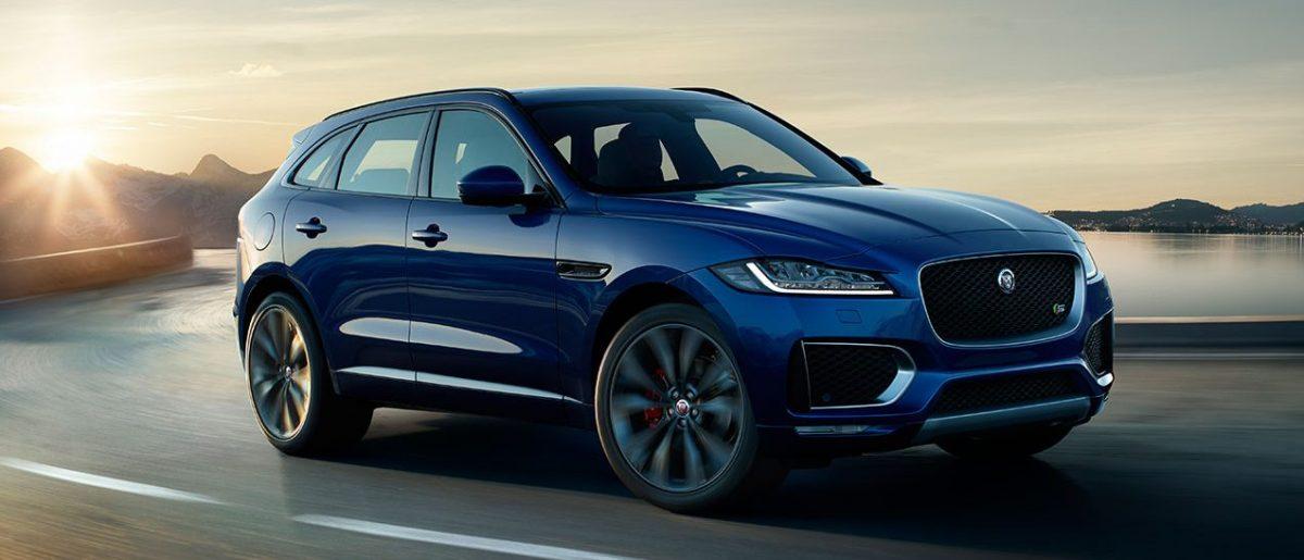 Nye Jaguar F-Pace.