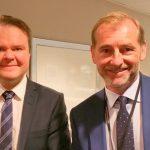 NEF møtte statsekretær Ove Vanebo i Justisdepartementet