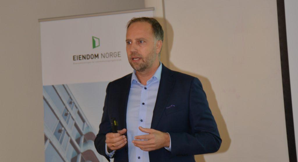 Administrerende direktør i Eiendom Norge Christian V. Dreyer