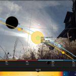 På visning: Slik sjekker du når solen forsvinner bak naboens tak!