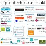 Nytt proptech-kart for oktober 2018 – og OBOS tester blockchain for boligsalg