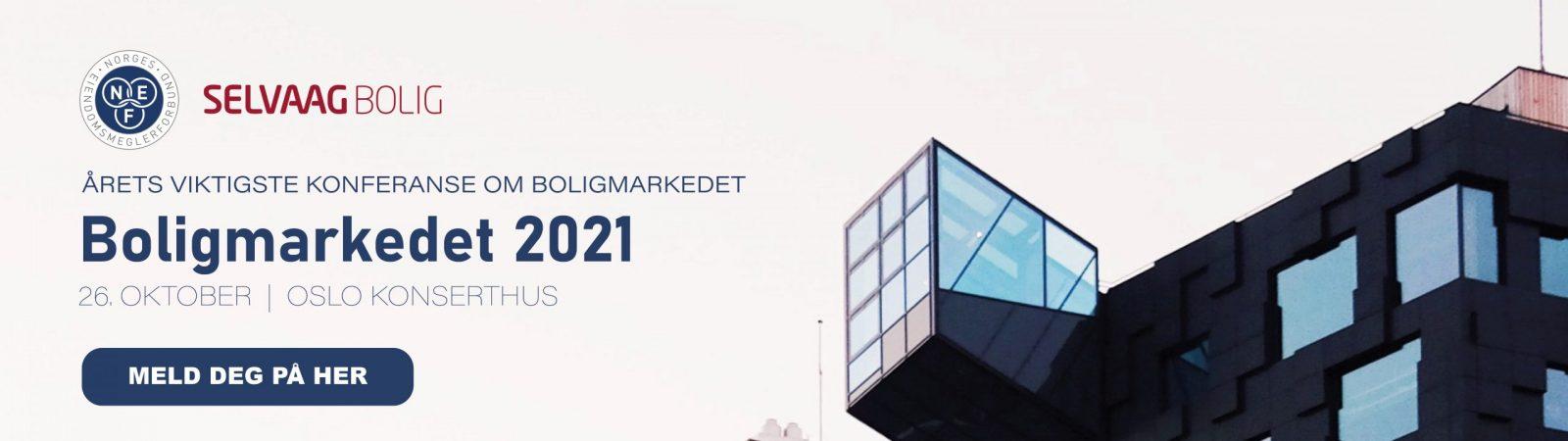 meld deg på Boligmarkedet konferansen høst 2021