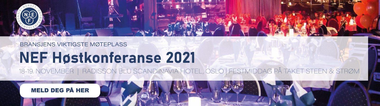 Meld deg på NEF Høstkonferanse 2021
